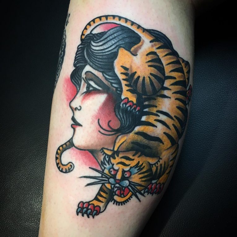 Tiger Tattoo 111