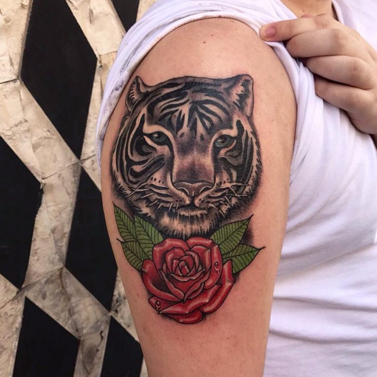 Tiger Tattoo 116