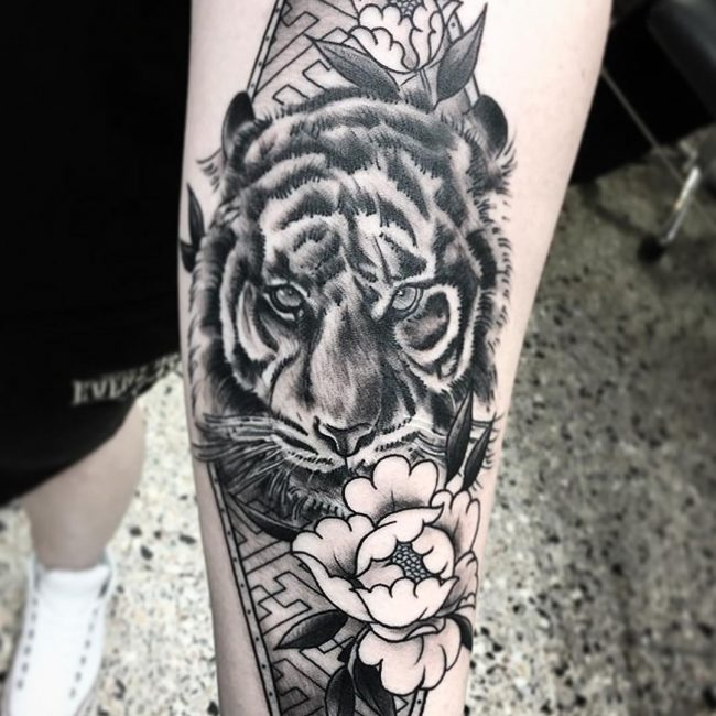 Tiger Tattoo 97