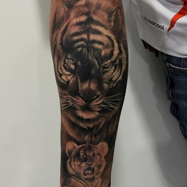 Tiger Tattoo 99
