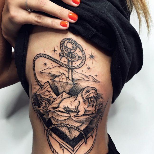 Traditional Tattoo 56