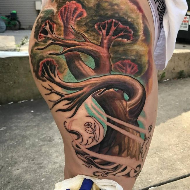 Tree Tattoo 74