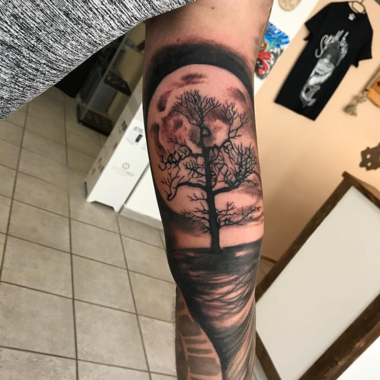 321de65b6 85+ Best Tree Tattoo Designs & Meanings - Family Inspired (2019)