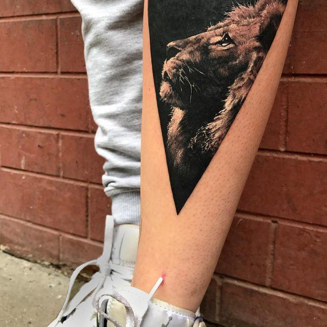 Triangle Tattoo 49