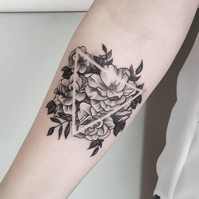 Triangle Tattoo 50