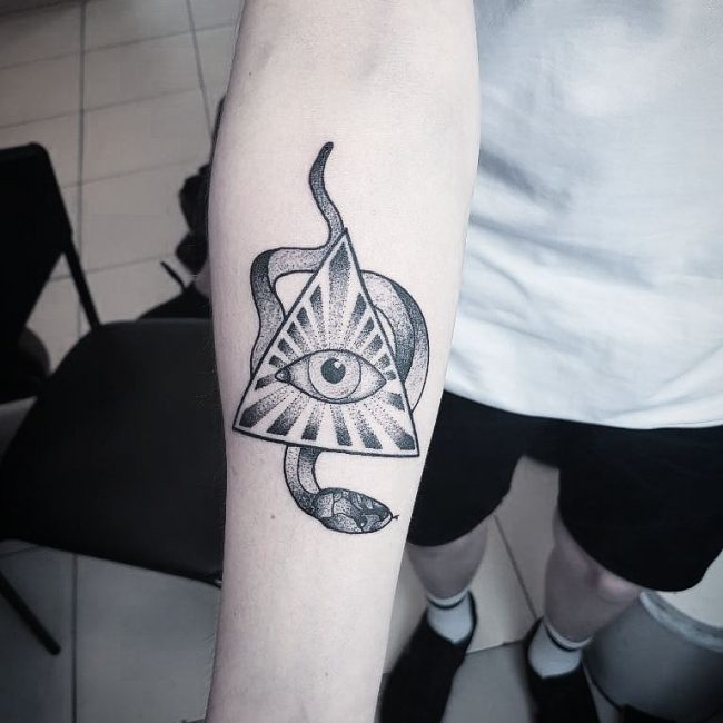 Triangle Tattoo 54
