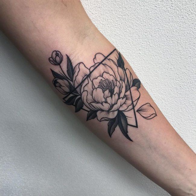 Triangle Tattoo 55
