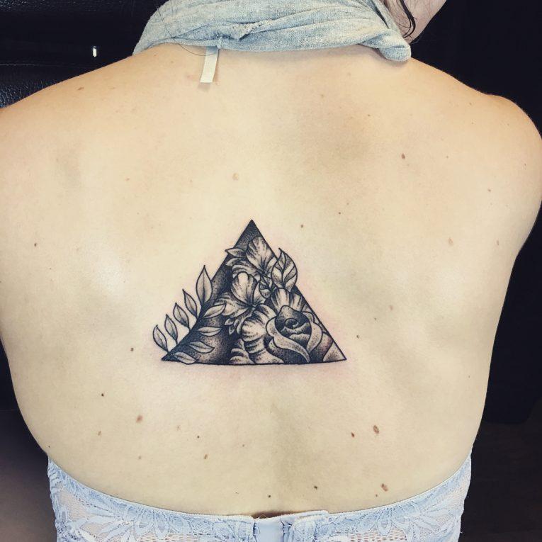 Triangle Tattoo 57