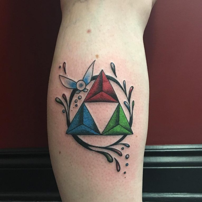 Triangle Tattoo 60