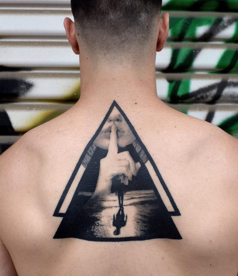 Triangle Tattoo 63