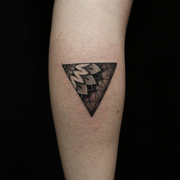 Triangle Tattoo 65