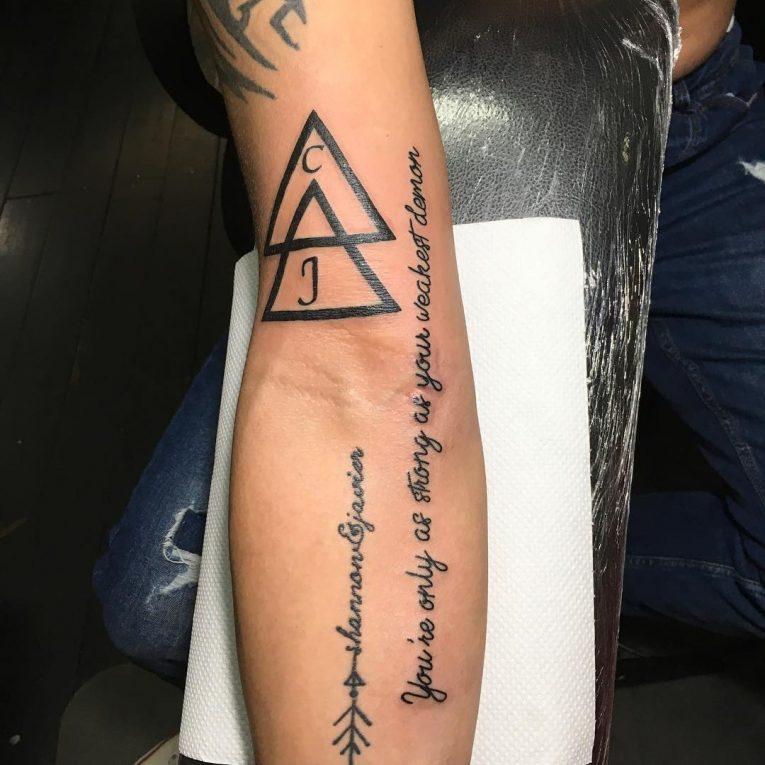 Triangle Tattoo 66