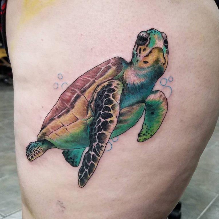 Turtle Tattoo 76