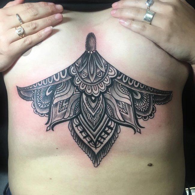 Underboob Tattoo 71