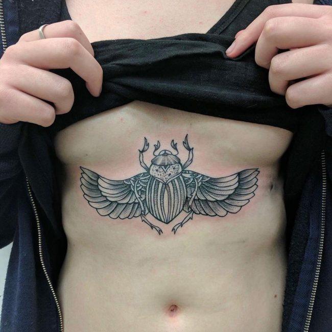 Underboob Tattoo 75