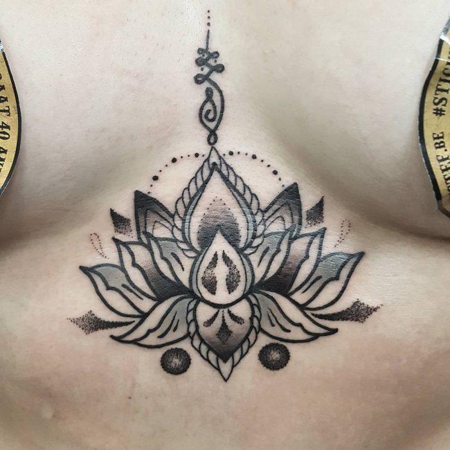 85 Best Underboob Tattoo Designs Meanings Sexy Elegant 2019