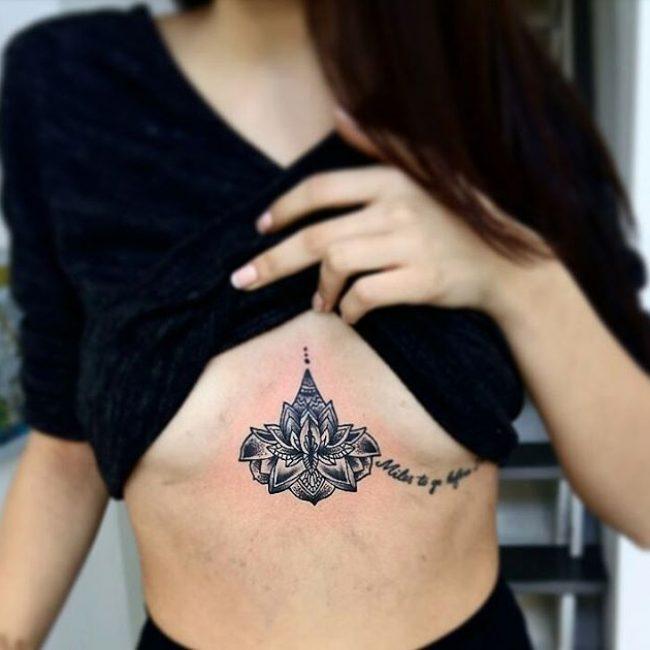Underboob Tattoo