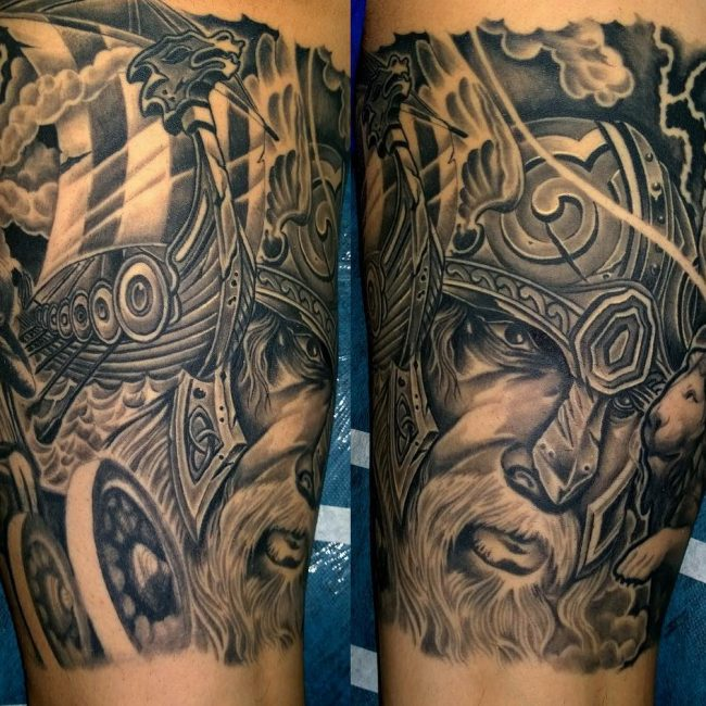 Viking Tattoo 85
