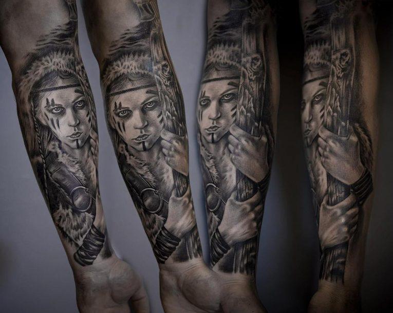 Viking Tattoo 90
