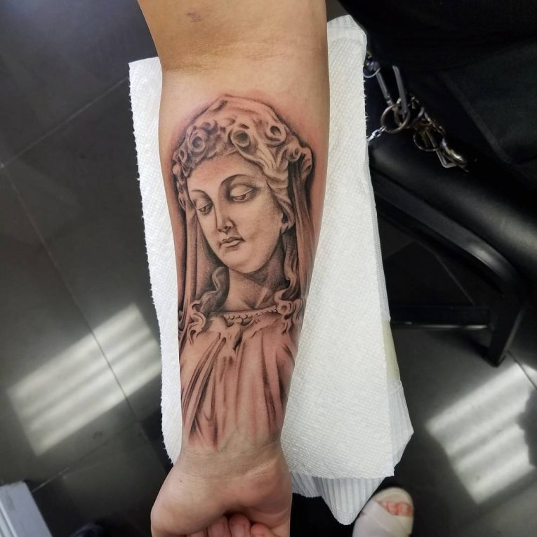Virgin Mary Tattoo 66