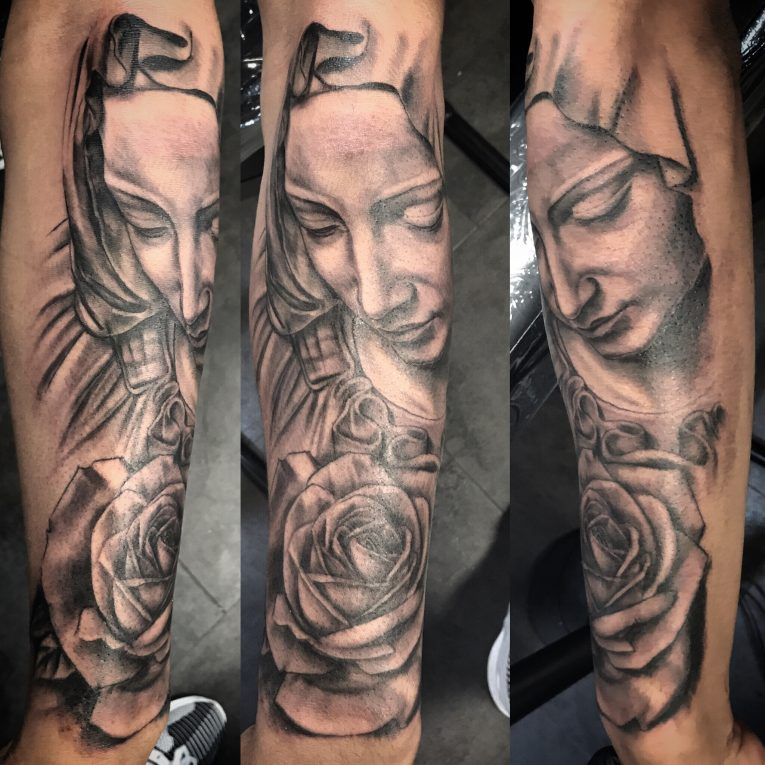 Virgin Mary Tattoo 67