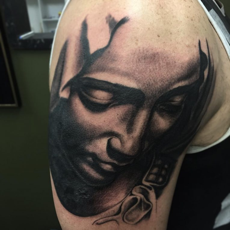 Virgin Mary Tattoo 68