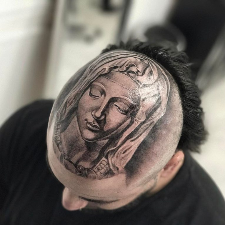 Virgin Mary Tattoo 72