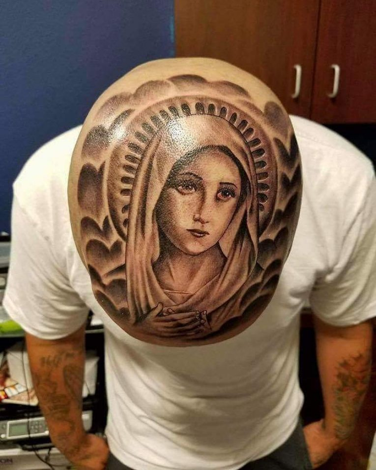 Virgin Mary Tattoo 76