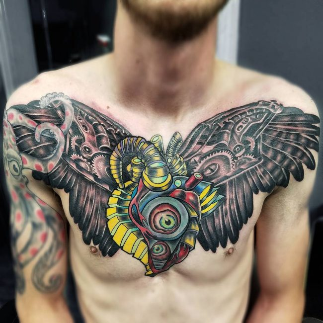 Wings Tattoo 48