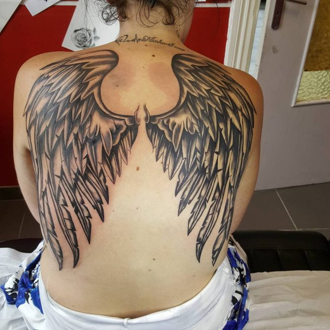 Wings Tattoo 51