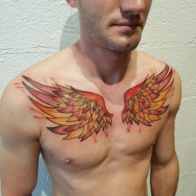 Wings Tattoo 52