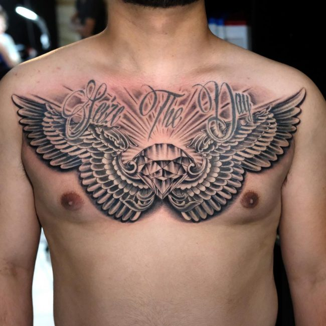 Wings Tattoo 55