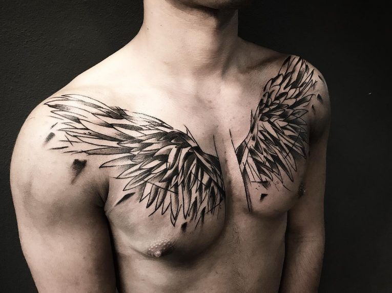 Wings Tattoo 59