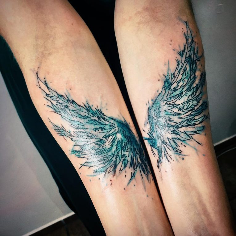 Wings Tattoo 66