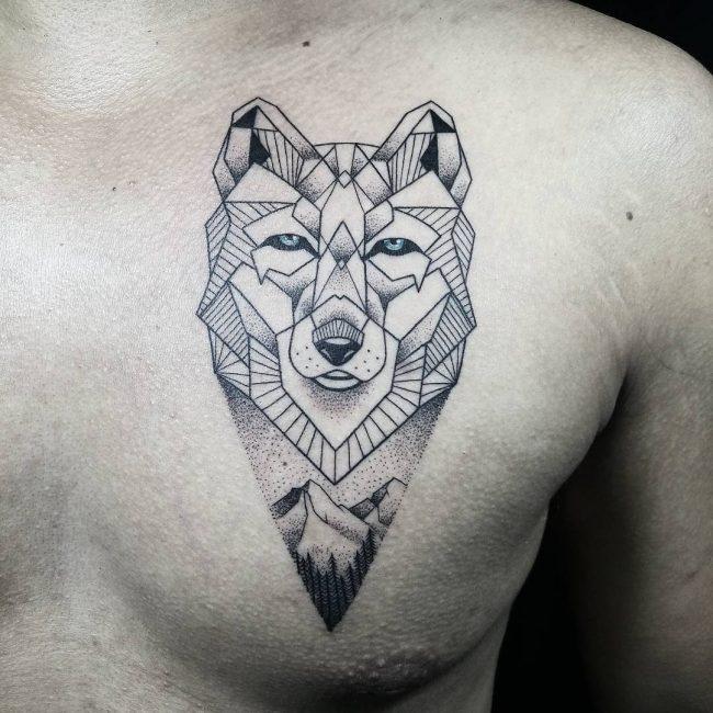 Wolf Tattoo 79
