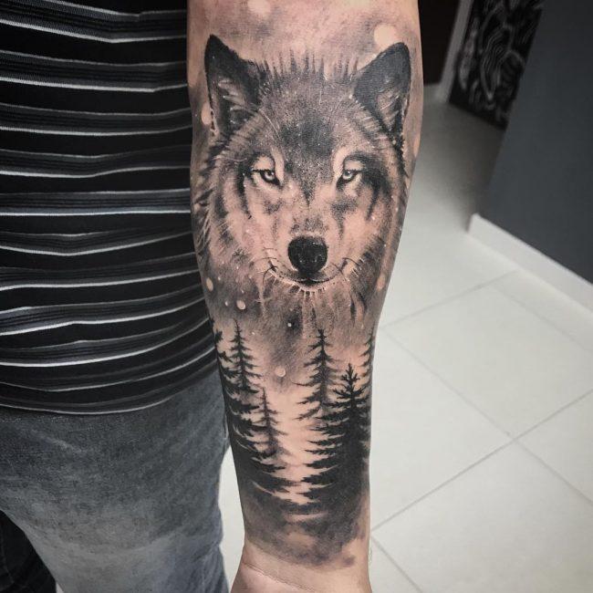 Wolf Tattoo 81