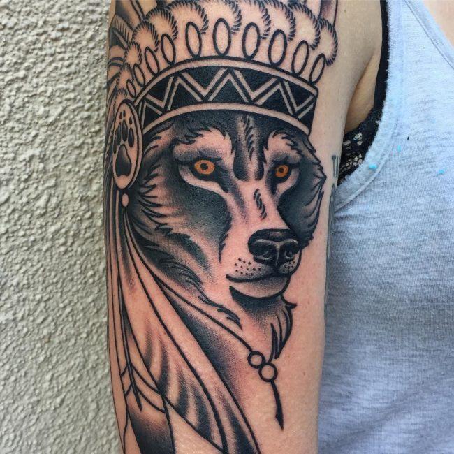 Wolf Tattoo 82