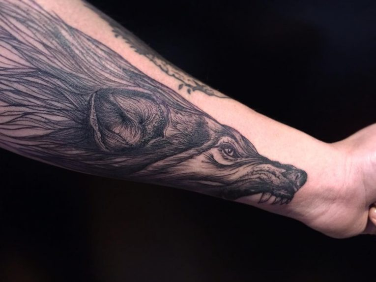 Wolf Tattoo 86
