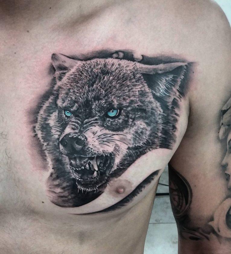 Wolf Tattoo 88