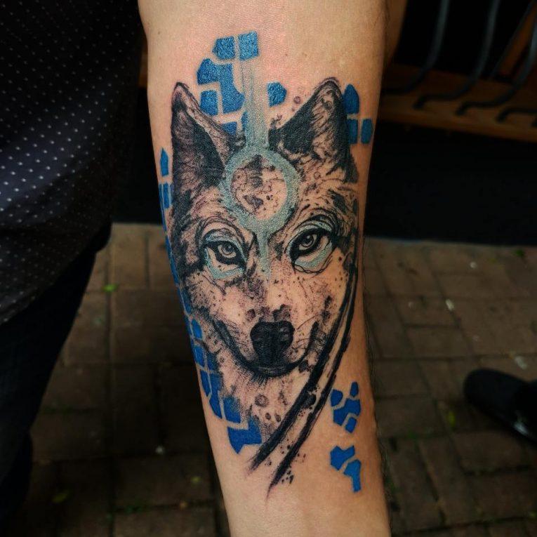 Wolf Tattoo 89