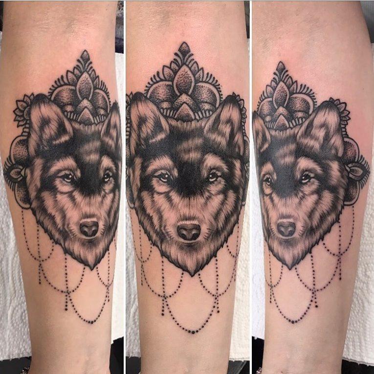 Wolf Tattoo 92