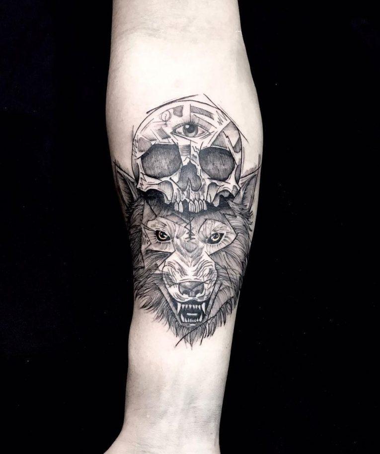 Wolf Tattoo 95