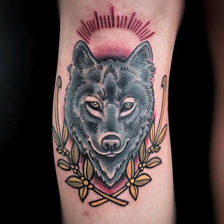 Wolf Tattoo 97