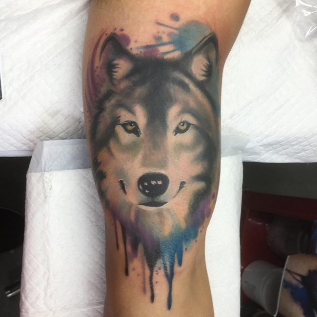 3581ece10bfd0 95+ Best Tribal Lone Wolf Tattoo Designs & Meanings (2019)