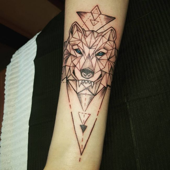 Tattoo Woman In Wolf: 75 Awesome Wolf Tattoo Designs