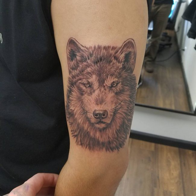 Tententattoo: 95+ Best Tribal Lone Wolf Tattoo Designs & Meanings (2019