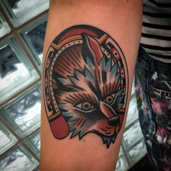 cc1c2a1aed85c 95+ Best Tribal Lone Wolf Tattoo Designs & Meanings (2019)