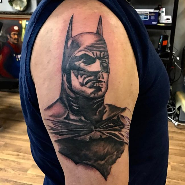 batman tattoo