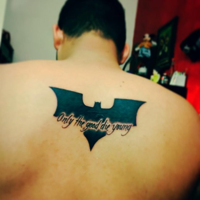 100+ Best Batman Symbol Tattoo Ideas - Comic Superhero (2018)