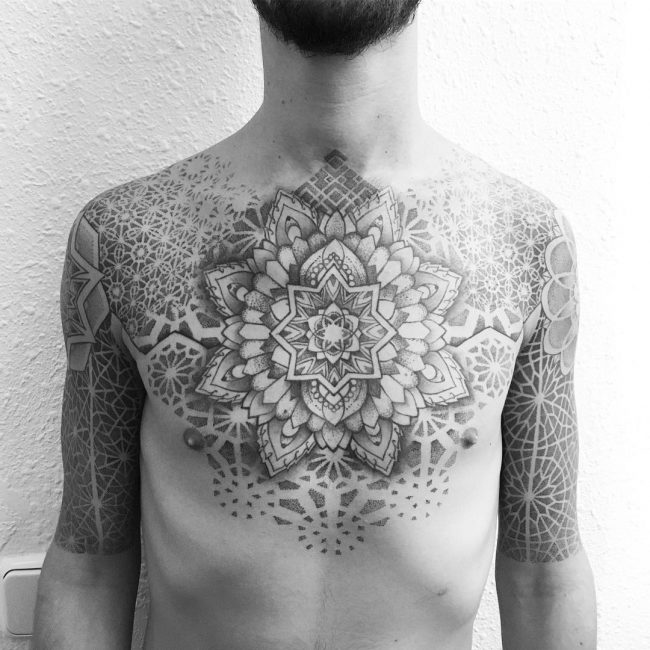 sacred geometry tattoo_